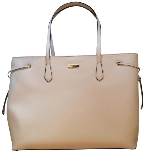 Preload https://img-static.tradesy.com/item/22688763/kate-spade-ari-laurel-way-ballet-pink-leather-tote-0-1-540-540.jpg