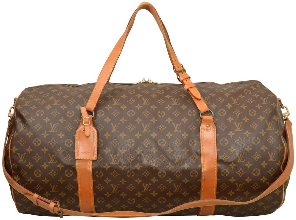 c6f6af2c88a2 Louis Vuitton Duffle Extra Large Brown Monogram Weekend Travel Bag ...