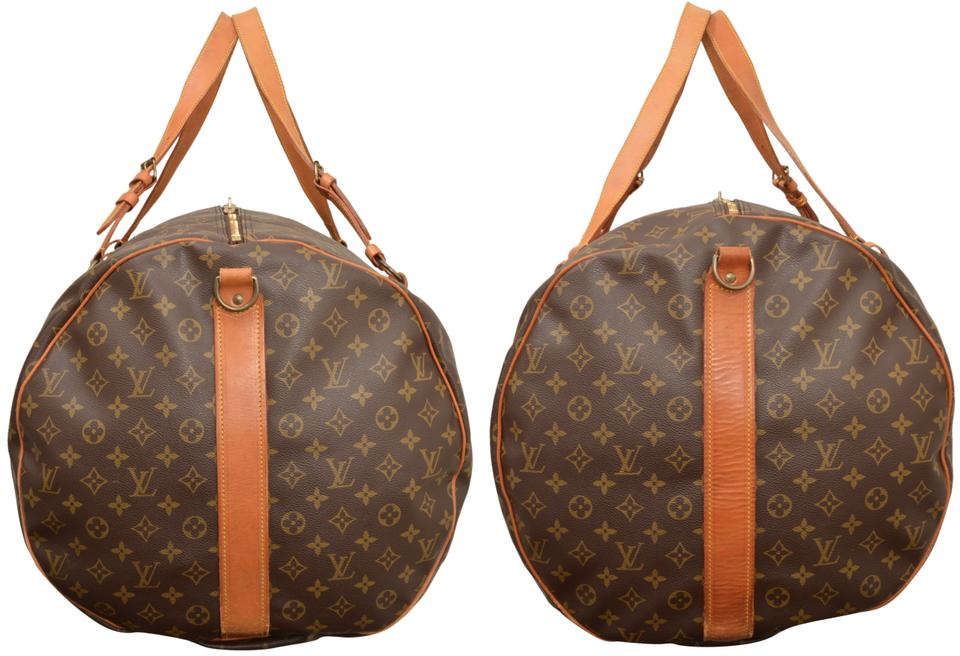 e7f29e4fe6f3 Louis Vuitton Duffle Extra Large Brown Monogram Weekend Travel Bag - Tradesy