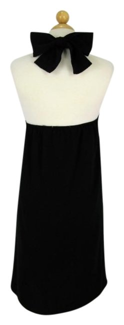 Item - Black 60's Style Halter Red Or Cocktail Dress Size 4 (S)