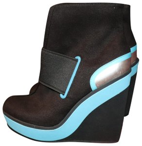 Isabel Toledo Payless Wedge Ankle Black / Multi Boots