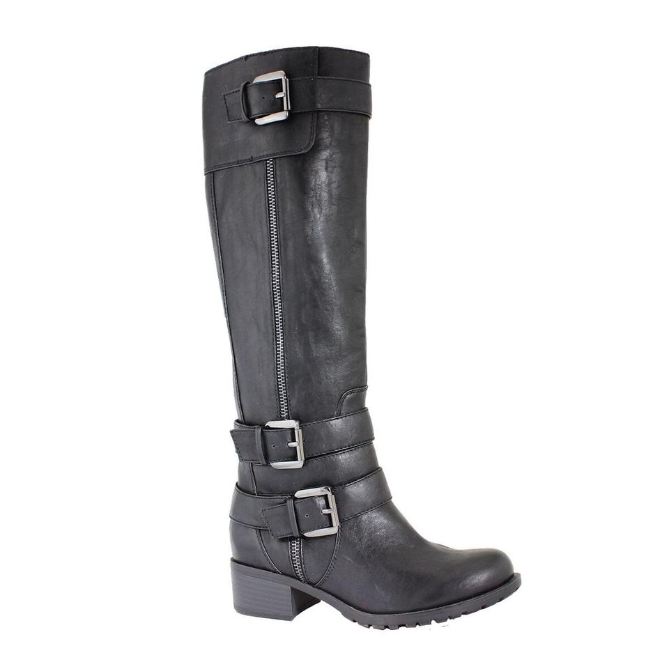 fbb941020aa Black Monaco Extra Wide Calf If10770a1 Boots/Booties Size US 7 Regular (M,  B) 42% off retail