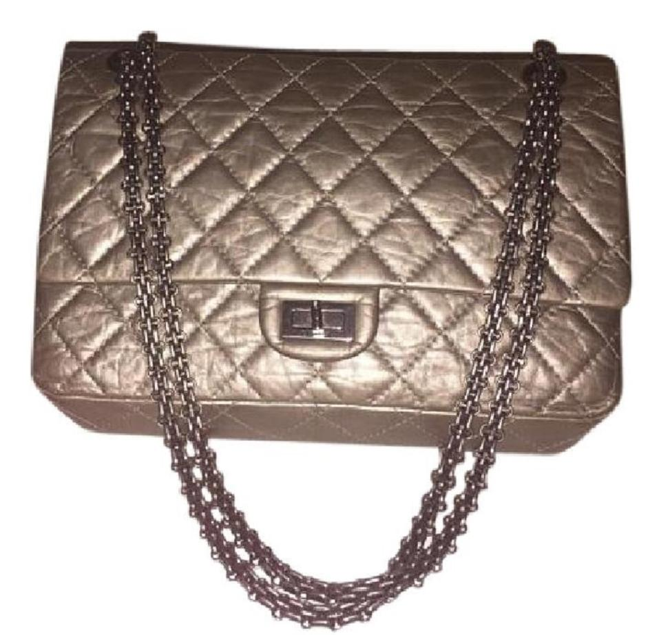 d9ebd620333fb6 Chanel 2.55 Reissue Classic Flap Caviar Leather Quilted Shoulder Bag Image  0 ...