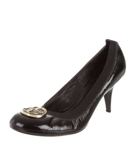 Tory Burch Patent Leather Black Pumps