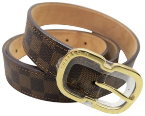 Louis Vuitton Louis Vuitton Damier Canvas 25mm Mini Belt