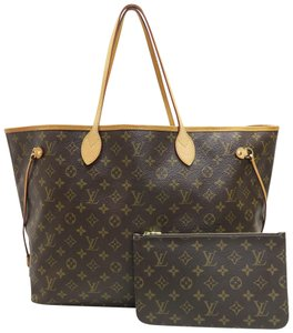 Louis Vuitton Lv Neverfull Gm Canvas W/P Shoulder Bag