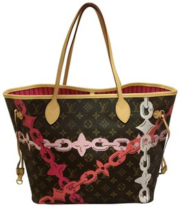 Louis Vuitton Lv Monogram Bay Neverfull Mm Shoulder Bag