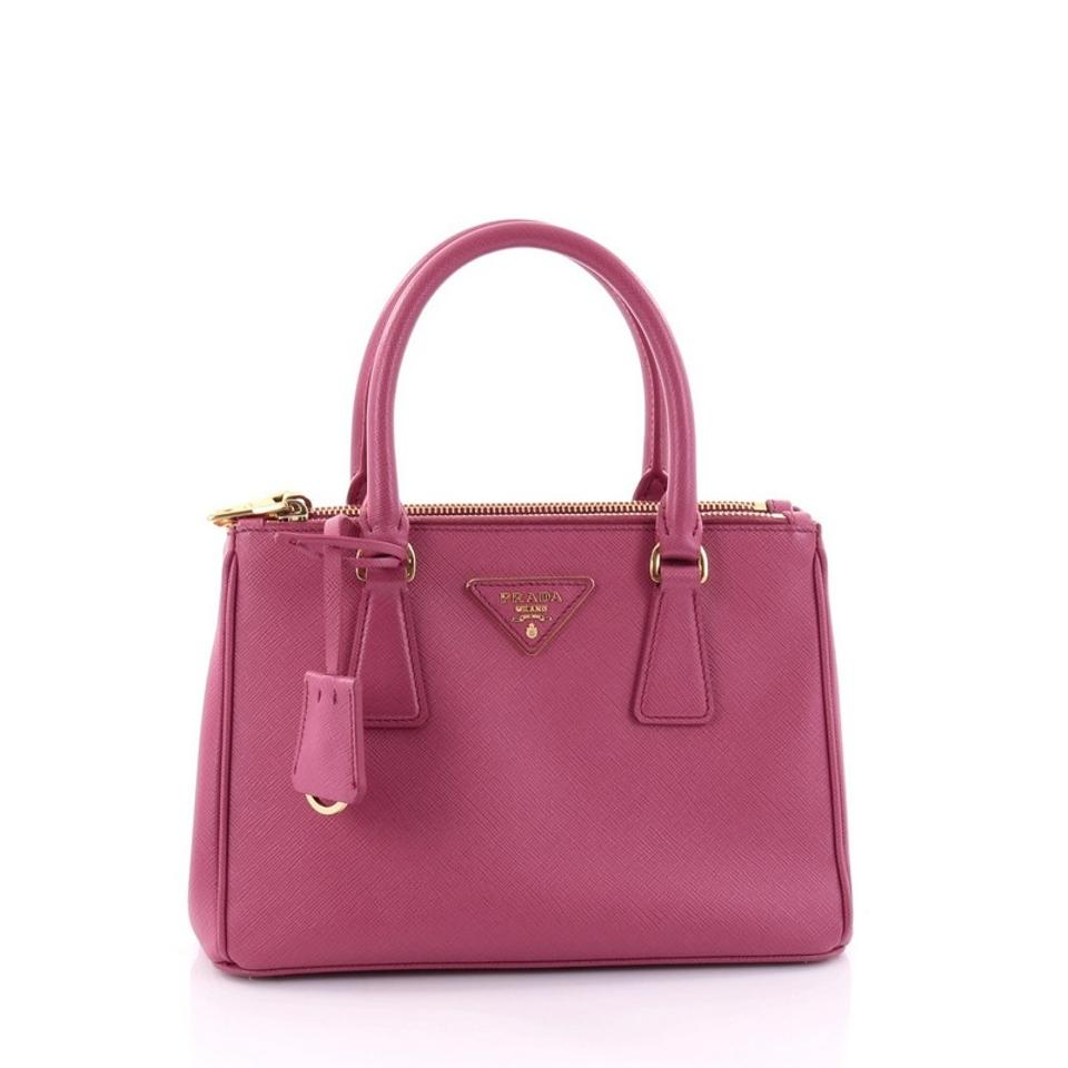 b614f5b67a39 Galleria Small Leather Tote Handbag By Prada | Stanford Center for ...