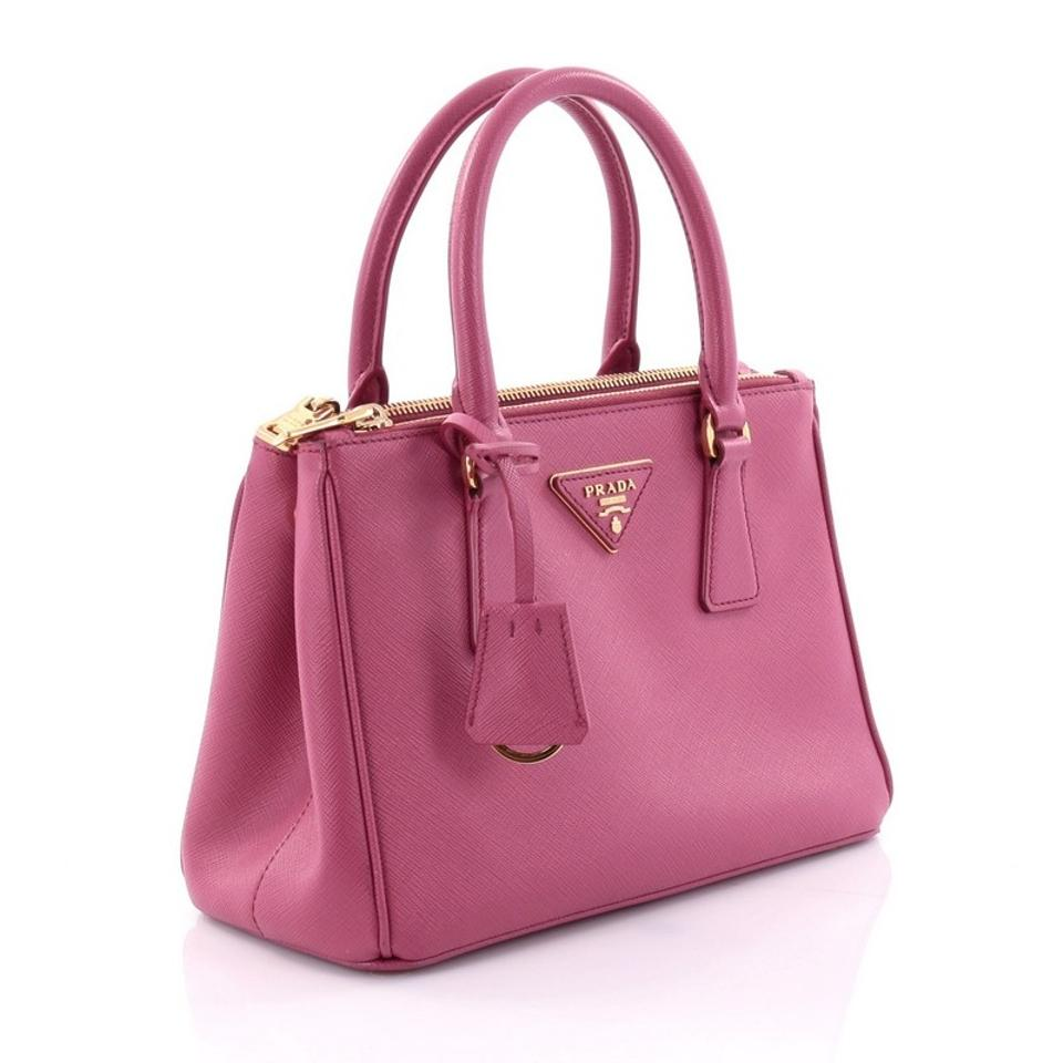 a342b950c57c Galleria Small Leather Tote Handbag By Prada | Stanford Center for ...