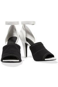 Alexander Wang Heel Ankle Strap White, Black Sandals