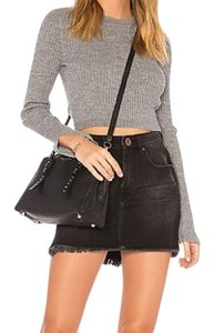 OneTeaspoon Mini Skirt black