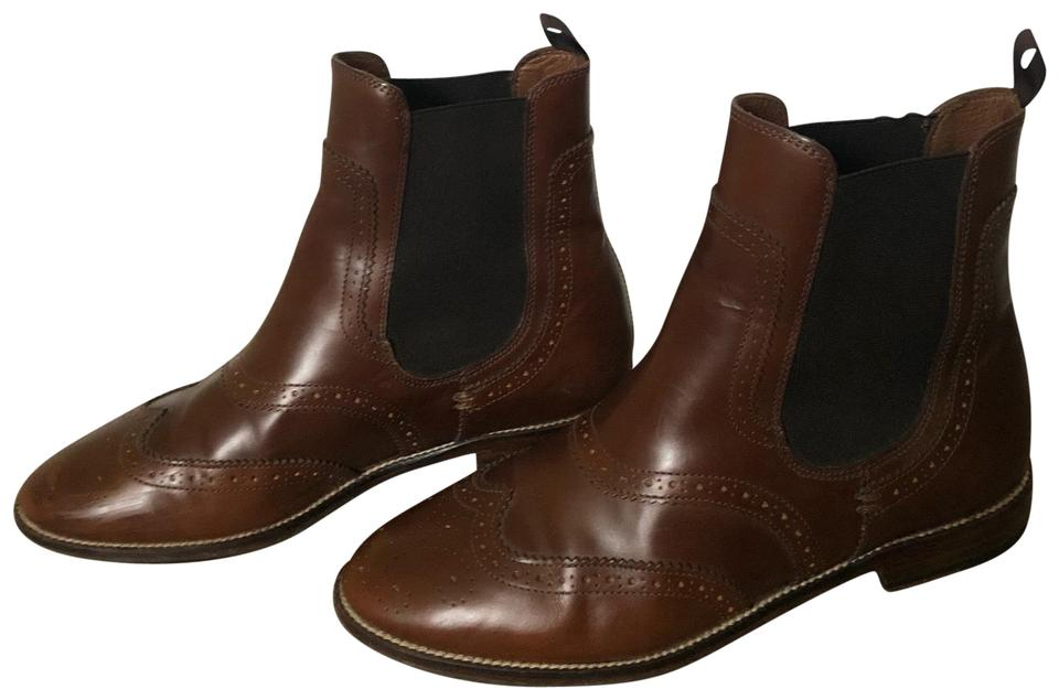 Massimo Dutti Brown Shoes Chelsea