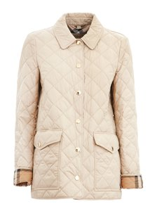 Burberry Quilted Dark Stone Jacket