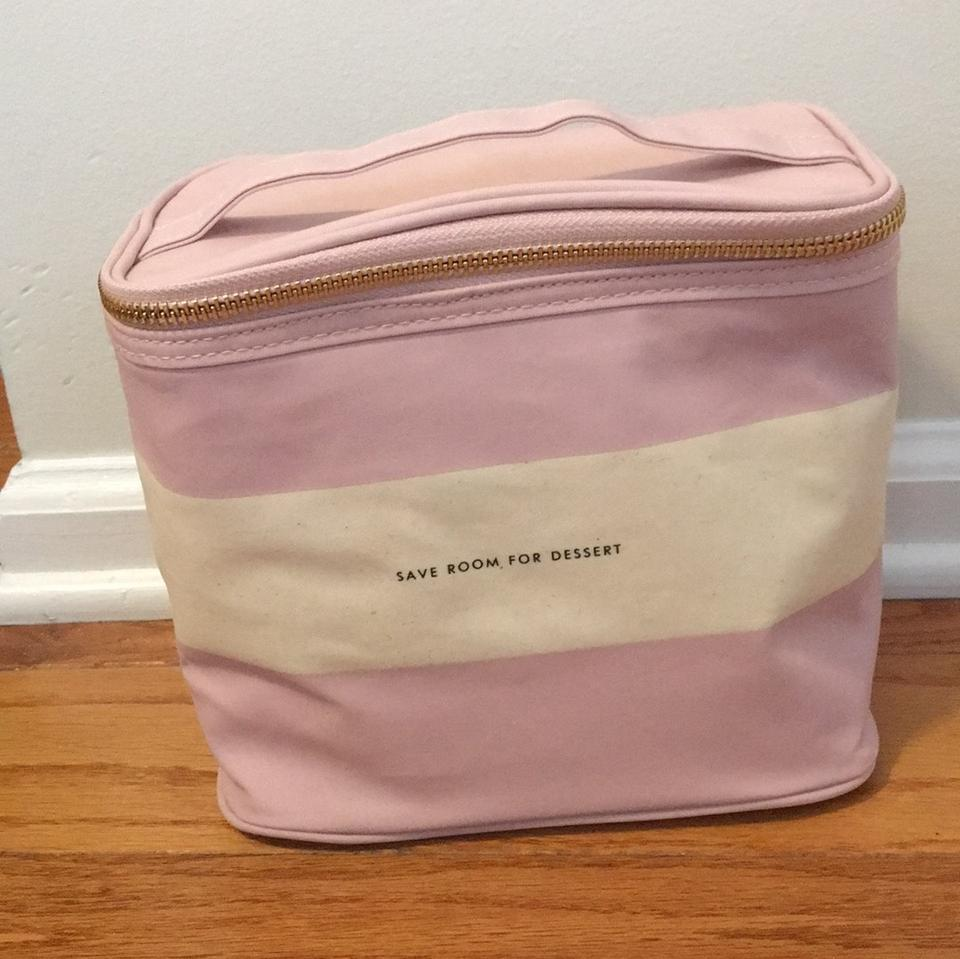 526afbfc1 Kate Spade Blush Rugby Stripe Lunch Tote Image 0 ...