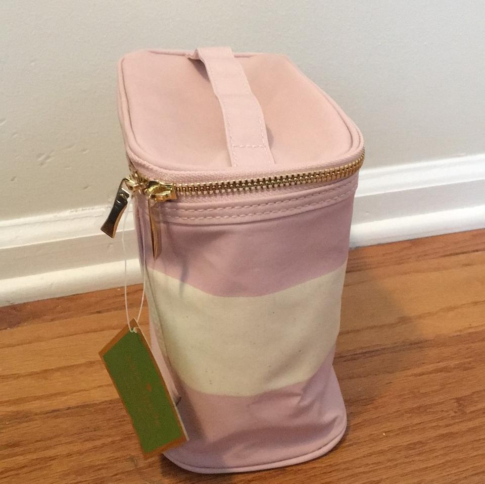 850f5f933 Kate Spade Blush Rugby Stripe Lunch Tote Image 3. 1234
