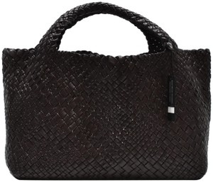 Falor Tote in dark red wine