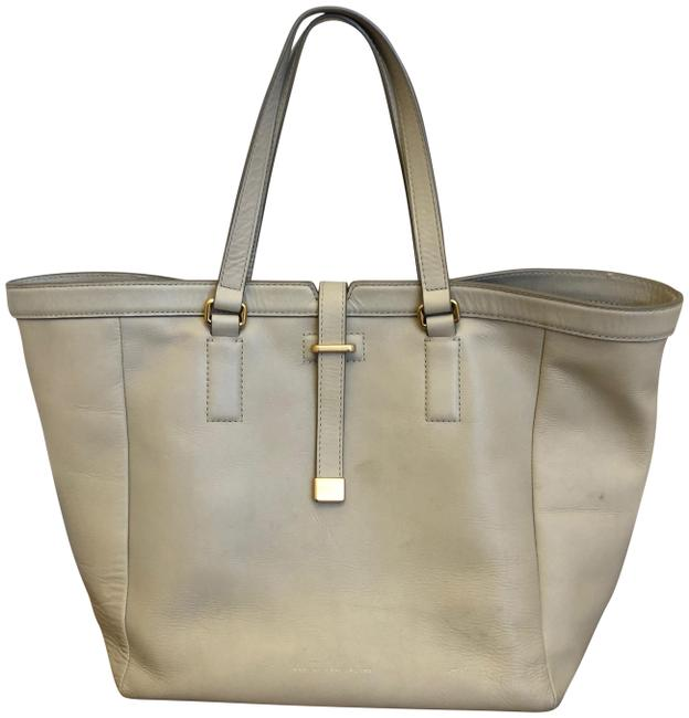 Item - Natural Selection Extra Large Beige Leather Tote