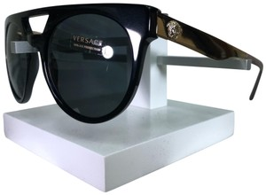 00918cffc7095 Versace Black with Gold Temples 4339 Sunglasses - Tradesy