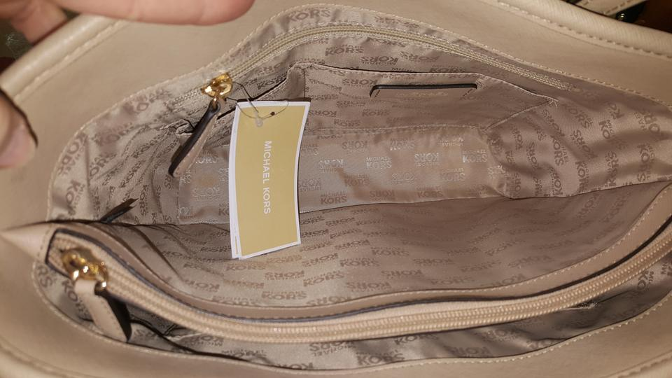 47Off Saffiano Frame Michael Leather Retail Kors Tote Bisque trChdQs