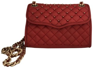 Rebecca Minkoff Quilted Mini Affair Studded Cross Body Bag