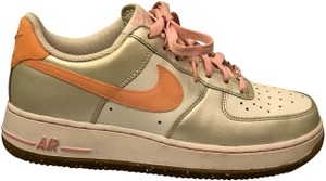 Nike Leather Gym Casual Glitter Sparkle pink/silver/white Athletic