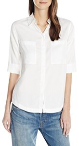 Wythe NY Button Down Shirt White