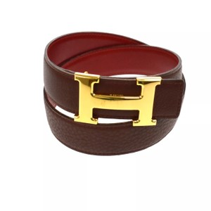 Herms H Constance Reversible Belt 68