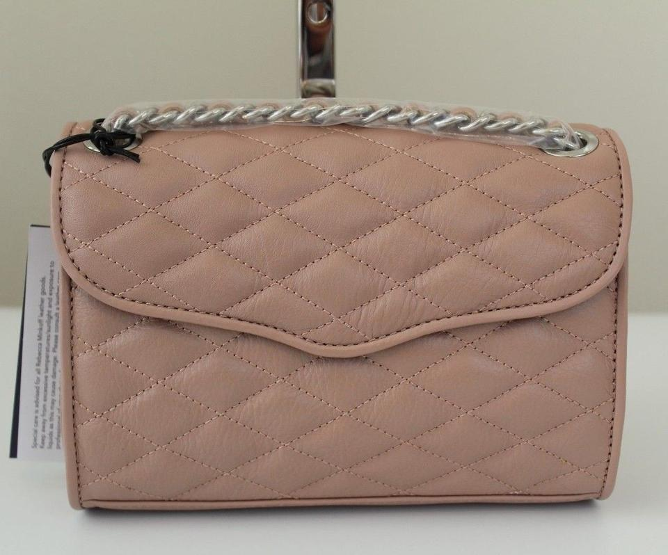 Rebecca Minkoff Quilted Mini Affair Crossbody Vintage Pink