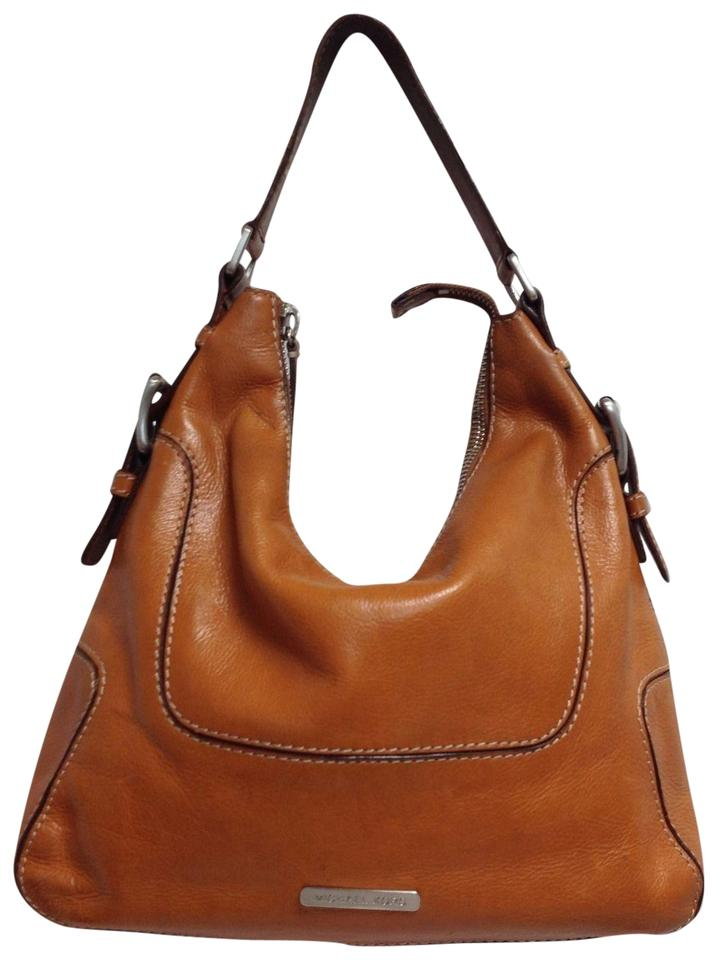 01119a9b1f22aa MICHAEL Michael Kors Vintage Saddle Tan Leather Hobo Bag - Tradesy