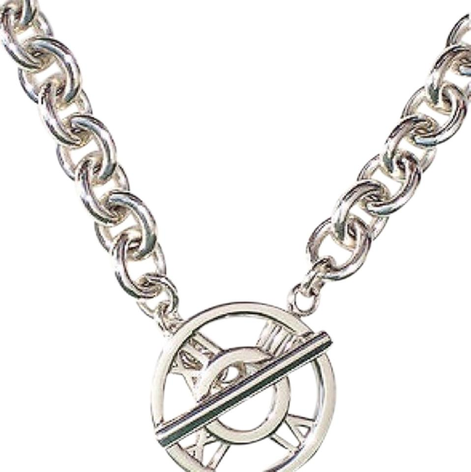 heart toggle bhp ebay stainless high chain cable necklace charm with polished steel clasp