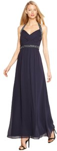 Calvin Klein Elegant Evening Gown Beading Dress