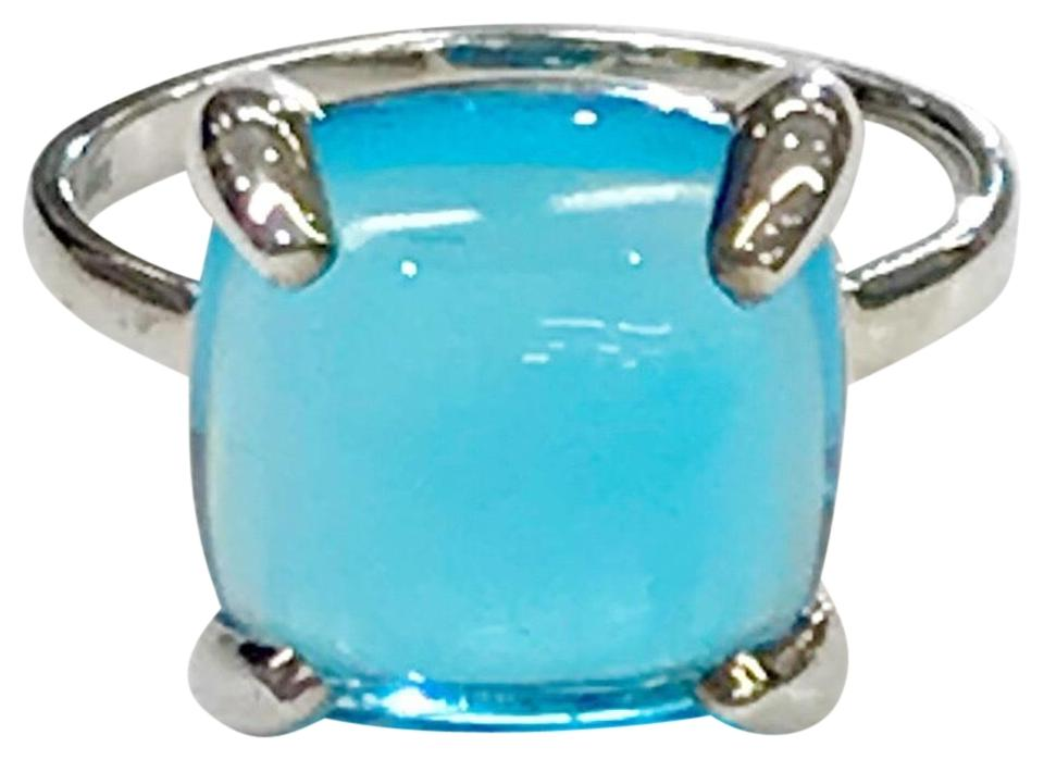 f64364ca1 Tiffany & Co. Paloma Picasso Blue Topaz Large Sugar Stack Ring - Tradesy