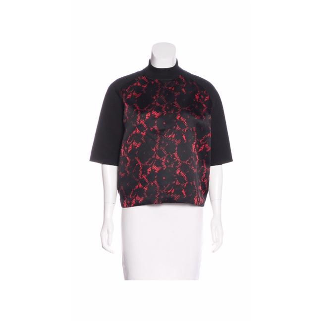 louis vuitton red and black pre fall 2013 sweater pullover. Black Bedroom Furniture Sets. Home Design Ideas