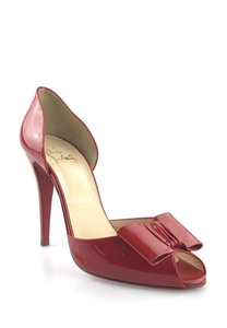 Christian Louboutin Patent Leather Red Pumps