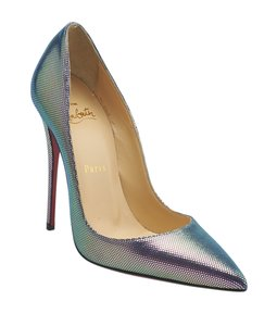 Christian Louboutin Leather Multi-Color Pumps