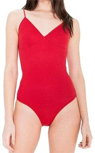 American Apparel Trendy Aa Top Chili Red