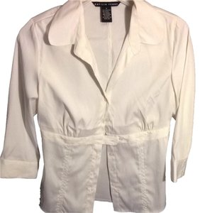 Antilia Femme Button Down Shirt White