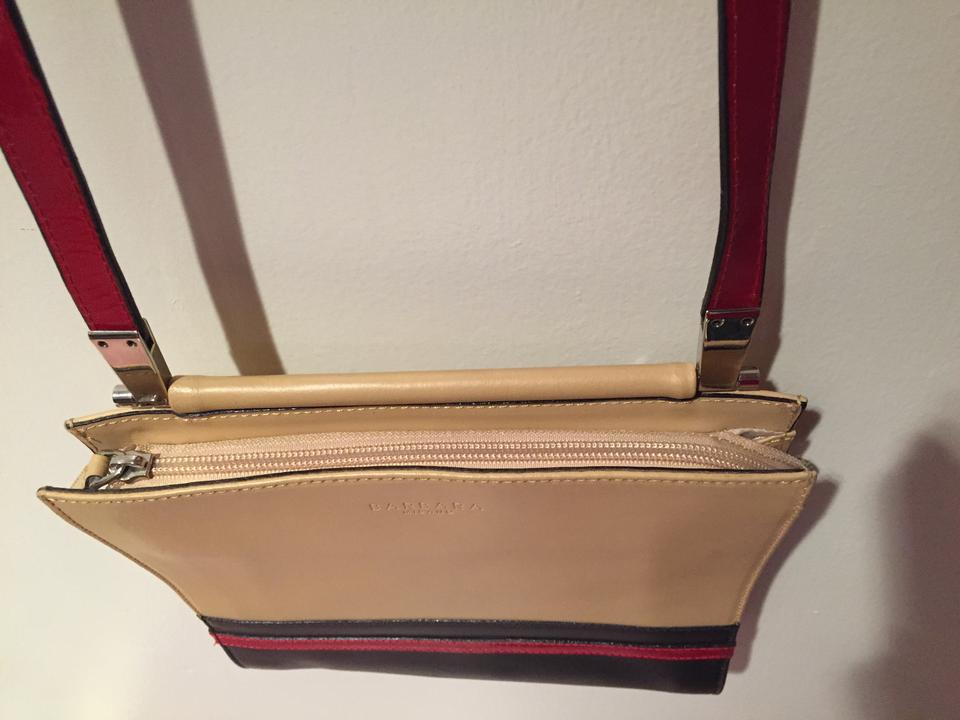 aa1d14803d3f Barbara Milano Patent Leather Leather Crossbody Shoulder Bag. 12345678910
