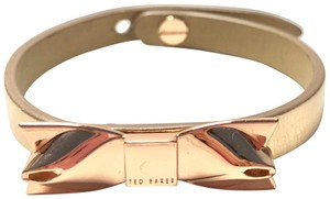 Ted Baker Ted baker rose gold leather bracelet