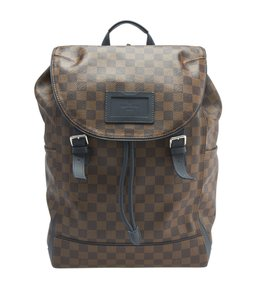 Louis Vuitton Louis Vuitton N41377 Runner Damier Ebene Backpack (141326)