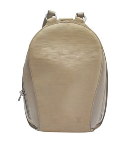 Louis Vuitton Louis Vuitton Mabillon Grey Ebay Leather Backpack (141504)