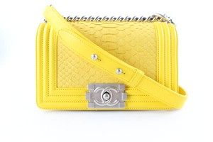 Chanel Python Caviar Pearl Limited Edition Cross Body Bag