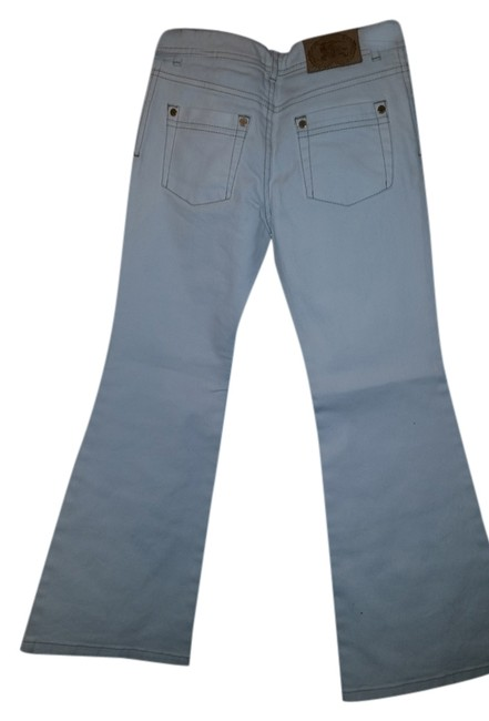 Burberry Boot Cut Jeans-Light Wash