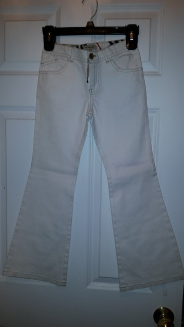 Burberry Boot Cut Jeans-Light Wash Image 1