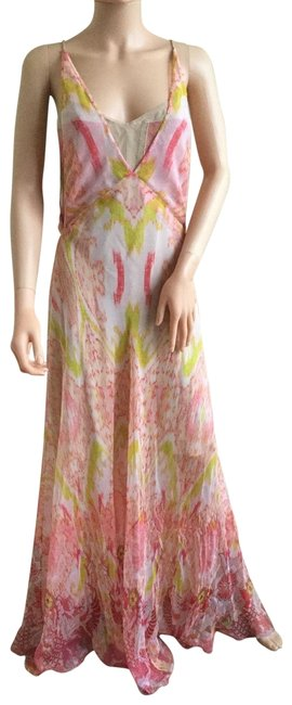 Preload https://img-static.tradesy.com/item/22696198/roberto-cavalli-pink-coral-abstract-print-silk-gown-long-casual-maxi-dress-size-4-s-0-1-650-650.jpg