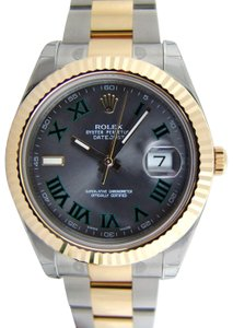 Rolex Rolex Datejust II Two-Tone 18K Yellow Gold Fluted 116333 41mm Watch