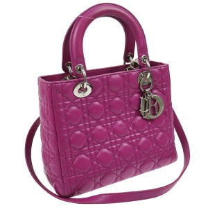 Dior Made In Italy Satchel in Purple