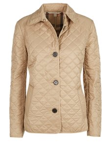 Burberry Brit Sale Black Beige Jacket