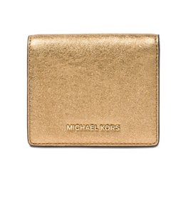 16faa0f99 ... coupon code for michael kors michael kors jet set leather card holder  wallet nwt 8e542 d41cb
