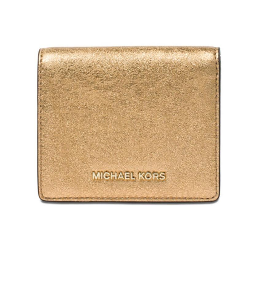 b1605fa14dee Michael Kors Michael Kors jet set Leather Card holder wallet nwt Image 0 ...
